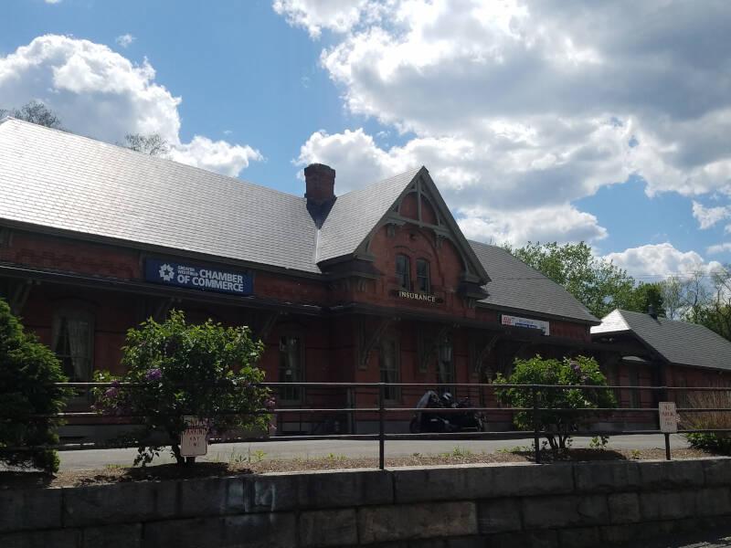 Old depot building